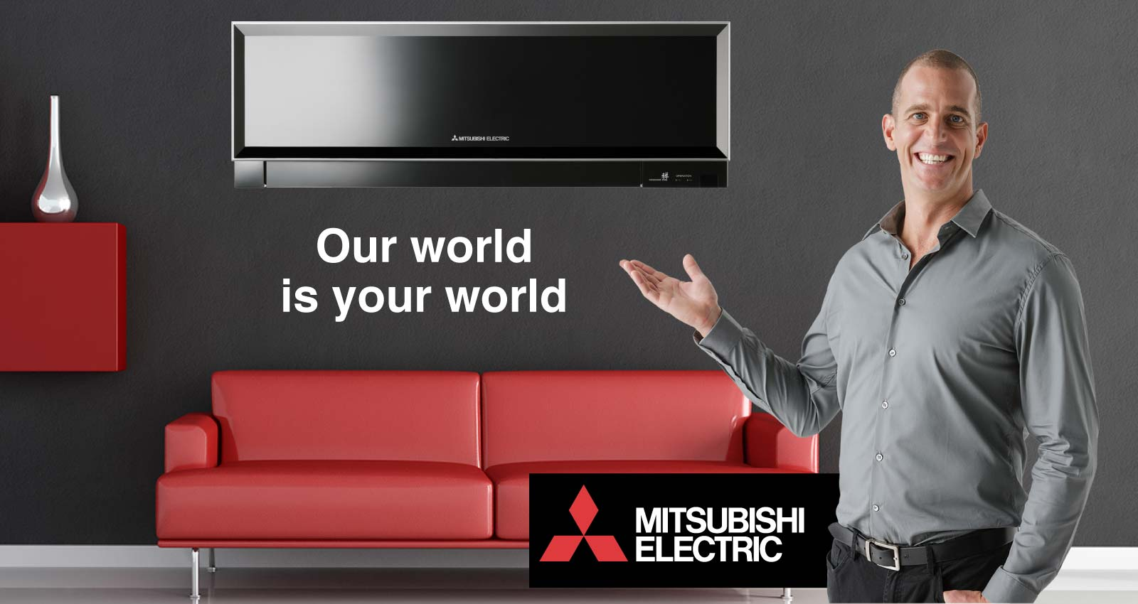 Mitsubishi_electric_air Conditioning Banner Ad. Mitsubishi_zen_2 Mitsubishi  Electric Air Conditioning
